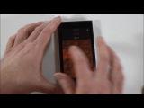 Jolla смартфон - распаковка, первое включение, знакомство с ОС Sailfish