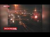 ДТП на Кутузовском проспекте в Москве 08.11.2014, BMW M5 и такси, момент столкновения, авария, жесть