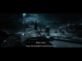 Hobbit: Beş Ordunun Savaşı Türkçe Fragman