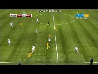 Казахстанцы издеваются над Чехским футболистами (by Altynbek)