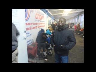 2015-01-10 Ice Skating, Stadium Dinamo, Nizhny Novgorod, Russia, Video