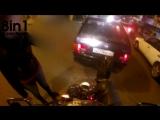 АвтоРегик- Ты мне сам в жопу въехал / Девушка на машине сдаёт задом и врезается в мотоциклиста с камерой