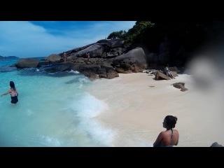 СЕМИЛАНЫ мы на пляже острова Ko Miang
