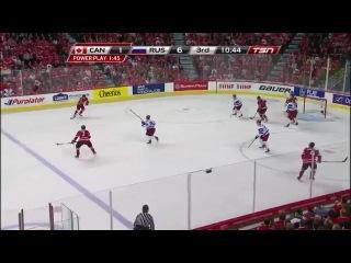Молодежный ЧМ по хоккею 2012 1/2 финала Россия - Канада - 6:5