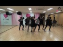 A Pink  My My dance practice