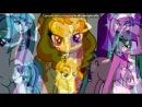 «даззлингз» под музыку Эквестрия герлз 2 - Три девочки в столовой. Picrolla