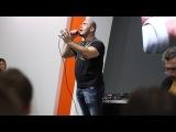 Выступление Вахтанга на Московском автосалоне