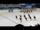 Чемпионат России по синхронному катанию, г.Йошкар-Ола (г.Казань-2 место)