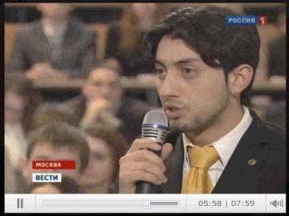 Знакомство Чермена Дзотова с Владимиром Путиным