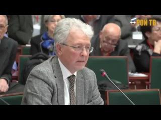 Катасонов рубит правду на Московском Экономическом Форуме - 2013