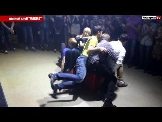 """День ЭКОНОМИЧЕСКОГО ФАКУЛЬТЕТА в ночном клубе """"MAGMA"""""""