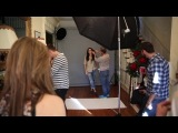 Angie Harmon x Red Earth Behind The Scenes Designer Shoot