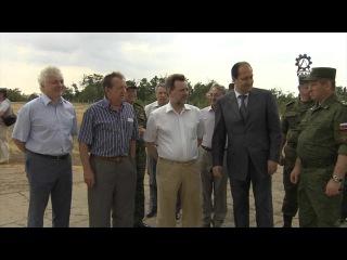 Передача комплекта ОТРК «Искандер-М» в Западный военный округ 8 июля 2014 г.