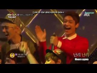 130518 SHINee - Скрытый певец с И Мун Сэ (вырезки с Шайни) (русс.саб)