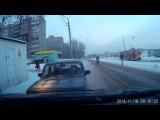 Односторонние движение по ул.Широкой.