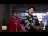02.01.2015|Chris Evans Wins Marvel Hero Super Bowl Showdown