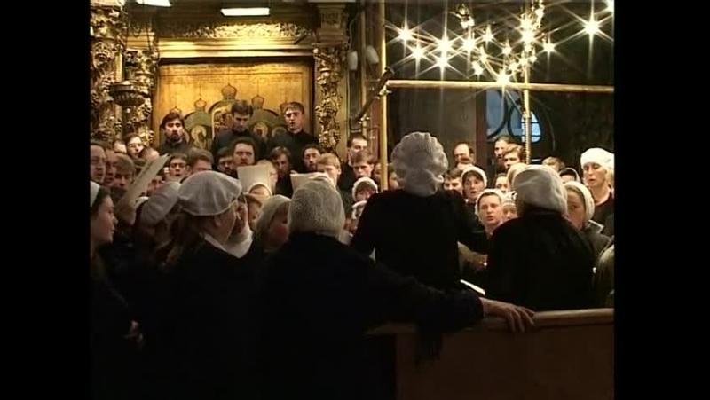 Отпевание архимандрита Матфея (Мормыля) запричастный концерт