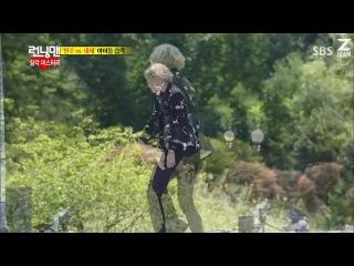 Представление новых айдолов Бегущий человек Running man Ep 209 Тэмин Taemin SHINee Кай и Сехун Kai Sehun EXO