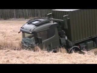 Тяжёлый военный тягач Scania R730 8x8 и тяжёлый эвакуатор Scania R730 8x8 Recovery