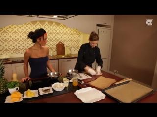 Оксана Артёмова. Фитнес рецепты. Десерт из обезжиренного творога и фруктов