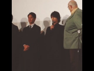 Kame's adorable English (Vancouver Asahi premiere 30.09.14)