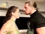 WWF SmackDown! 05.10.2000 - Мировой Рестлинг на канале СТС - ссора Игрока со Стефани