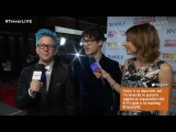 Tyler Oakley and Shira Lazar interview Darren Criss at the 2014 Trevor Live event