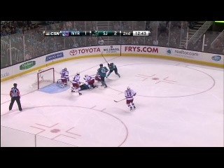New York Rangers vs. San Jose Sharks (08.10.2013) 2:9