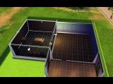 Как  я строю дом в Симс 4/Sims 4 (2 ЧАСТЬ).