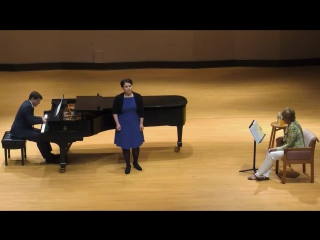 Masterclass with kiri te kanawa at rsmi (2014)