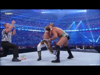 Chris Jericho vs Ricky Steamboat & Roddy Piper & Jimmy Snuka - WrestleMania 25