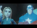 Disney Infinity - Marvel Super Heroes (2.0 Edition) The Avengers All Cutscenes