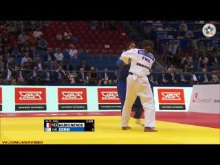 2014 World Championships Chelyabinsk (-63kg Final) AGBEGNENOU Clarisse (FRA) - GERBI Yarden (ISR)