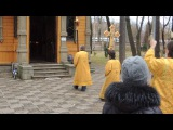 Лития и возложение цветов к памятнику Александру III 2.11.2014.
