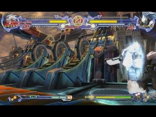 BlazBlue versus Ragna vs Haku-men