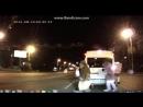 В челябинске губка боб, белка, микки маус и лунтик избили водителя
