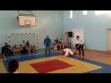 Дауренов Ильяс (1место) По Кудо 01.02.2015 бой№1.