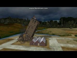 Detonate Lite 1.2 падение 6-этажки