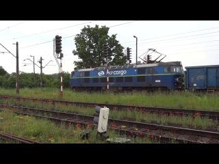 ET22-1034 PKP Cargo Poznan Krzesiny linia 272 wysoki rozruch