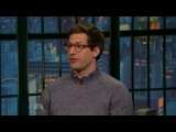 Seth - 2014.09.25 - Andy Samberg, Emily VanCamp, [Roy Wood, Jr.]