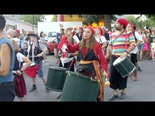 Парад пиратов в Капилейре, Альпухарра, Испания