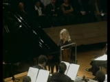 Gabriela Montero improvises on Rachmaninoff's third piano concerto in the style of Bach