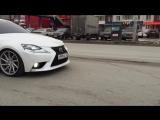 Lexus IS на вентиляторах