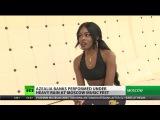 Интервью для телеканала «Russia Today»