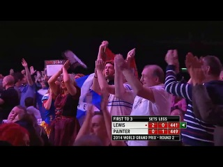 Adrian Lewis vs Kevin Painter (World Grand Prix 2014 / Second Round)