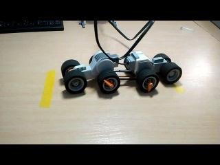 Сравнение моторов NXT и EV3