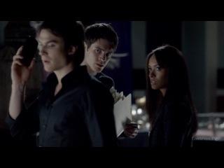 TVD\ Деймон, Бонни и Джереми.-  Тебе нужно убить вампира. S04х06 LostFilm.HD