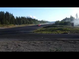 AWD Drift with 876HP Audi S4 at Gardermoen Raceway - Alm Racing Team (25-7-2012)