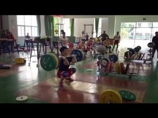 Tian Tao (85kg, China) Clean & Jerks 220kg