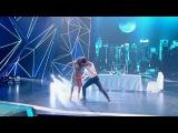 Танцы: Снежана Крюкова и Виталий Савченко (Grisha Urgant - Голосами) (Выпуск 17)